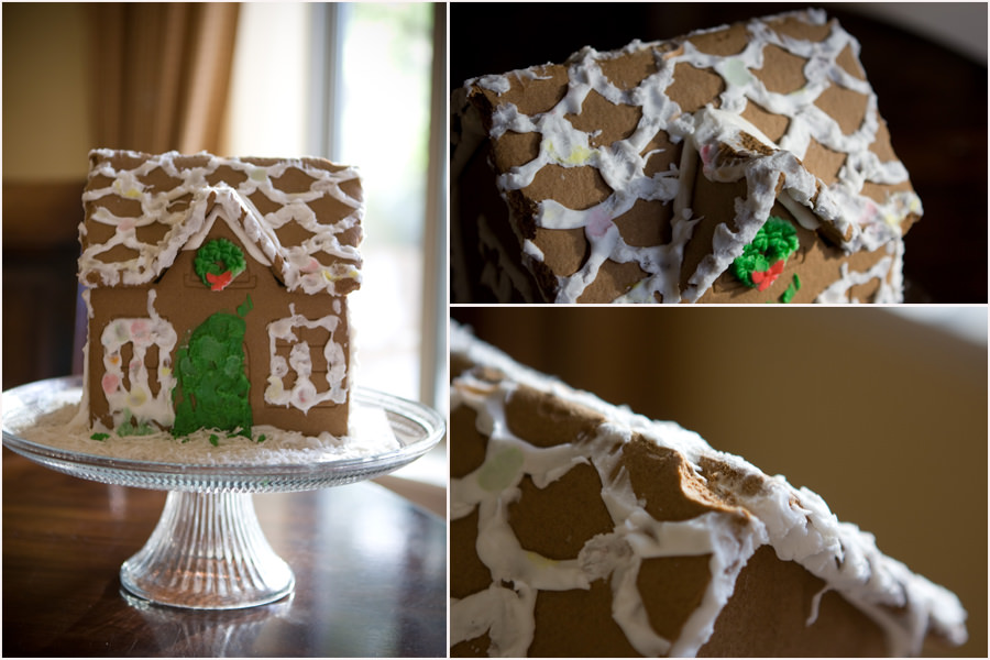 The Wakeman Gingerbread House