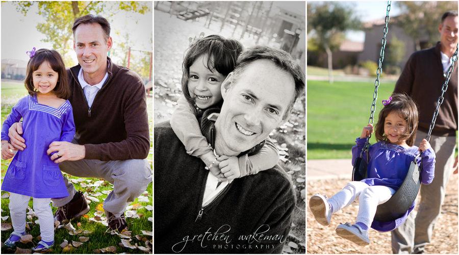 Buckeye, AZ- Family Portrait Photographer: The Wall Family