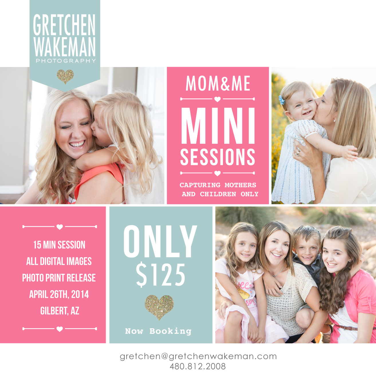 """MOMMY & ME"" MINI SESSIONS"