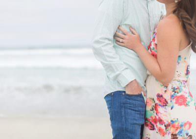 San Diego Engagement Session, Beach Engagement Session, Mission Beach San Diego