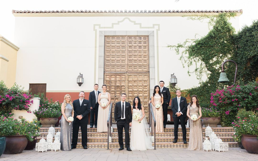 OMNI MONTELUCIA WEDDING, SCOTTSDALE  AZ | DAWN & BRAD