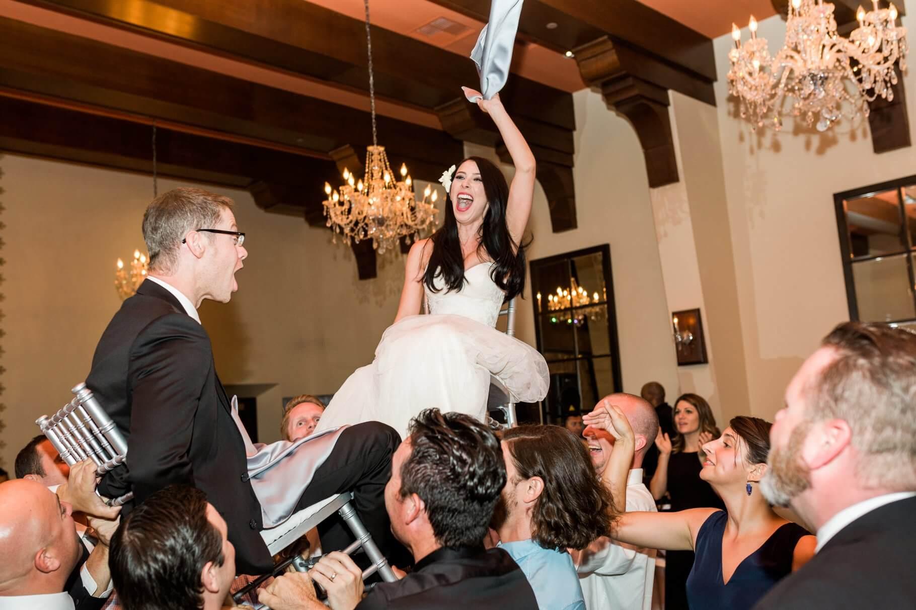 Omni Montelucia Wedding- Jewish Hora Dance