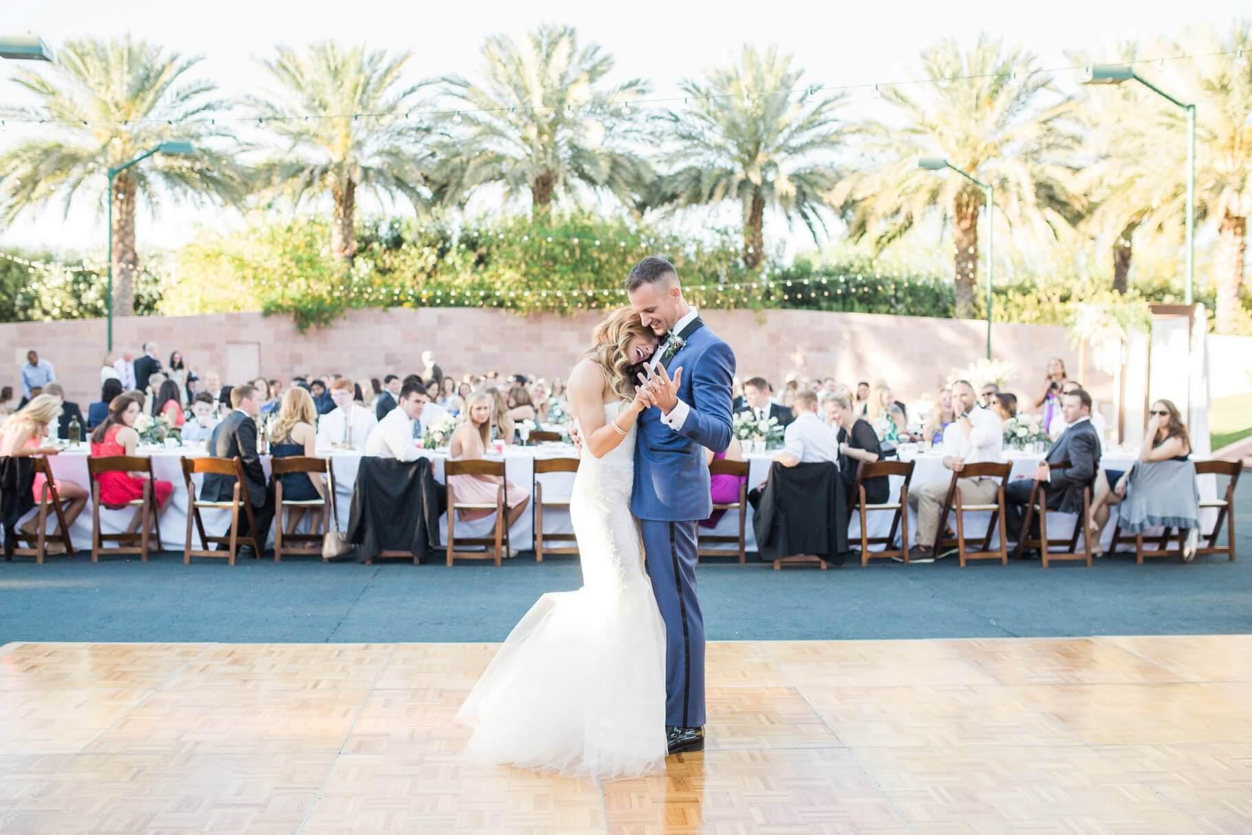 Palm Lake Oasis Wedding