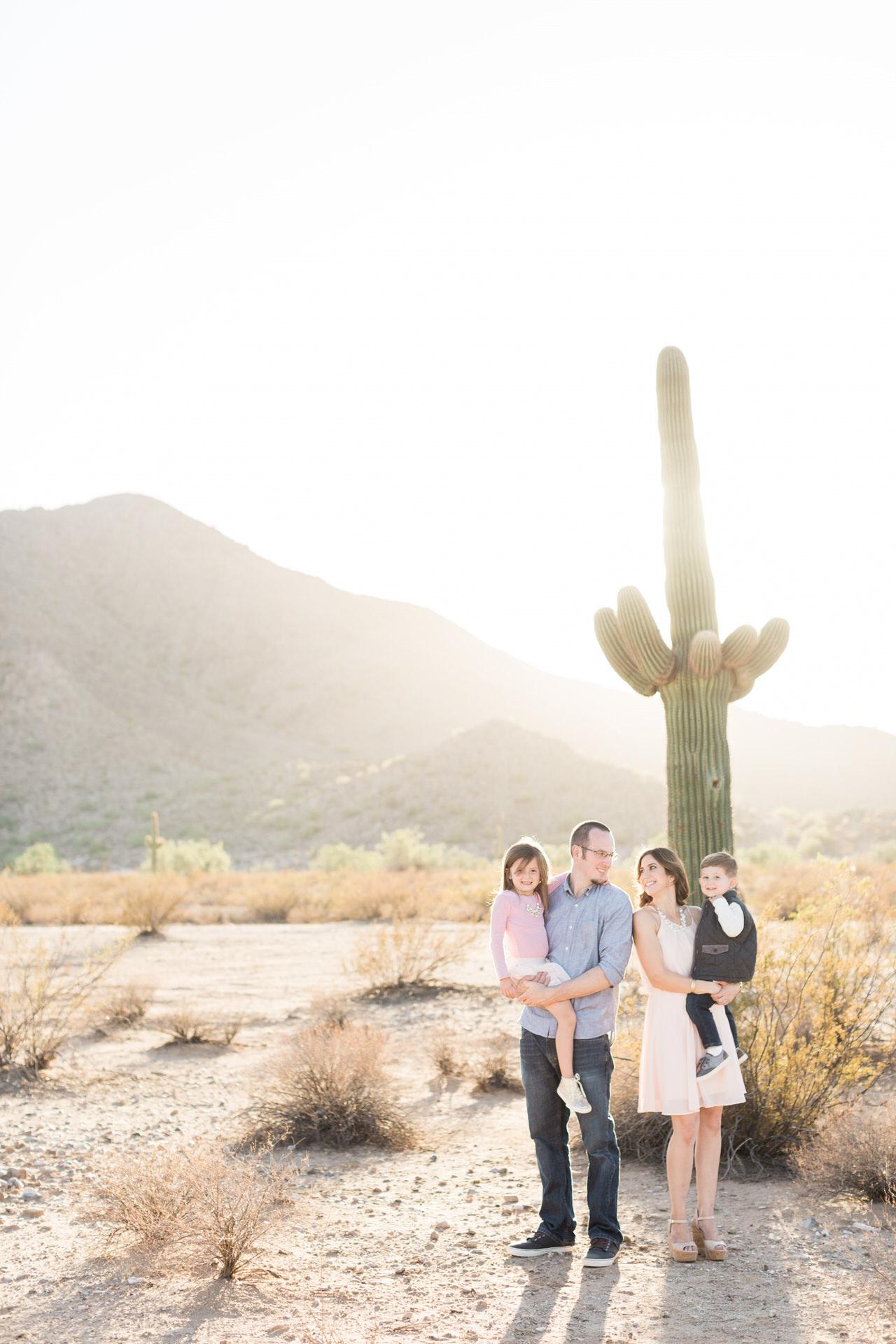 Family Desert Photos