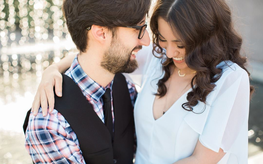 PHOENIX ART MUSEUM ENGAGMENT SESSION | MANDY & TED