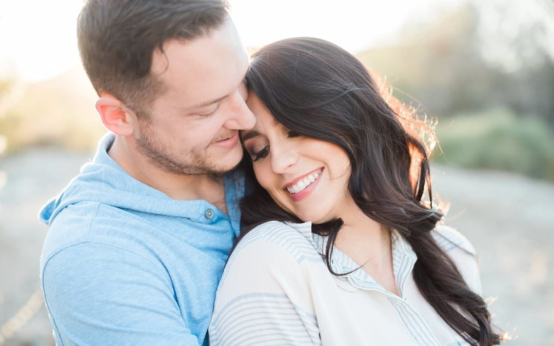 PHOENIX SOUTH MOUNTAIN ENGAGEMENT SESSION | MALLORIE & TODD