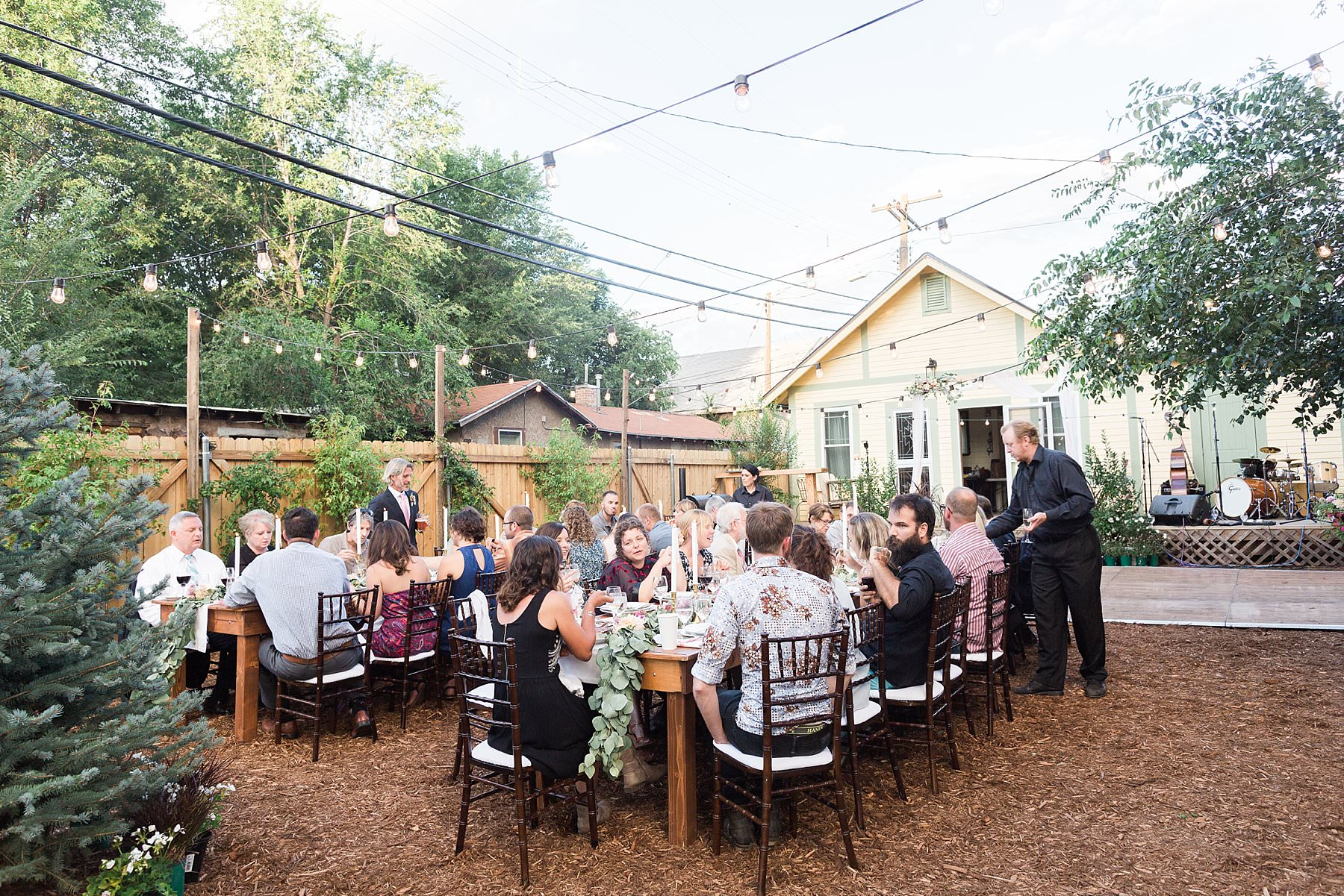 intimate backyard wedding flagstaff az sarah u0026 armand
