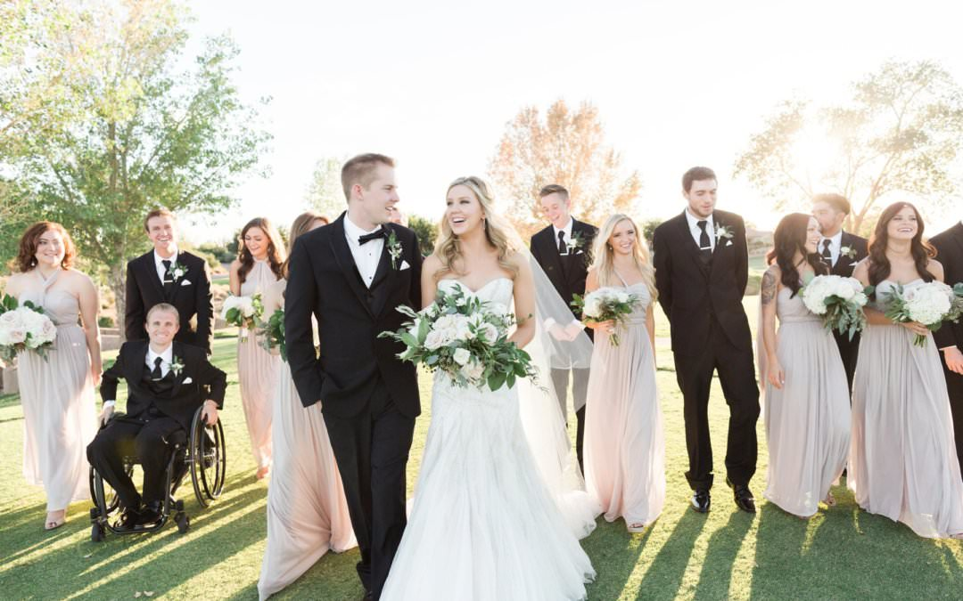 ENCANTERRA WEDDING, SAN TAN VALLEY AZ  | MEGAN & TANNER