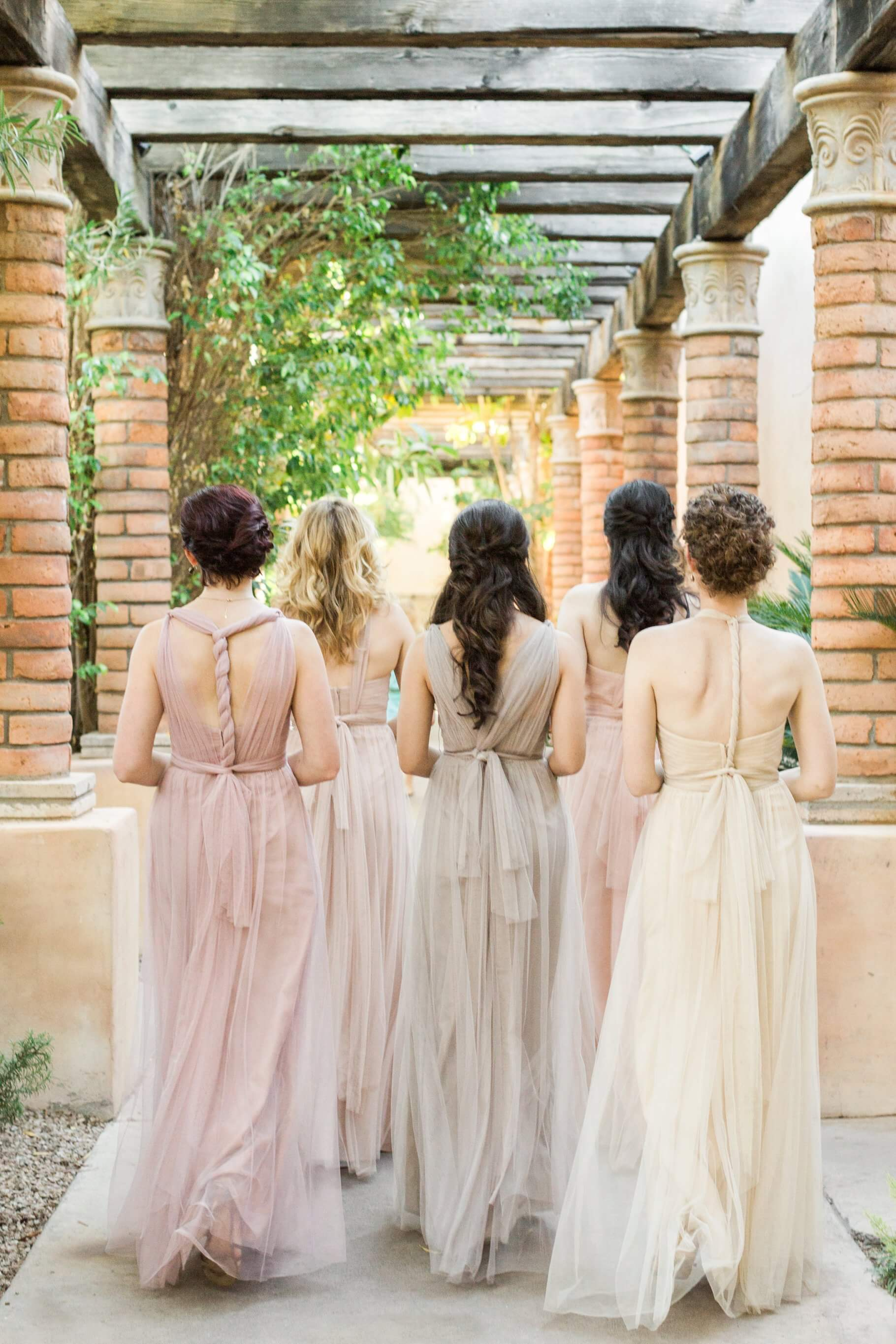 Royal Palms Wedding- Bridesmaids