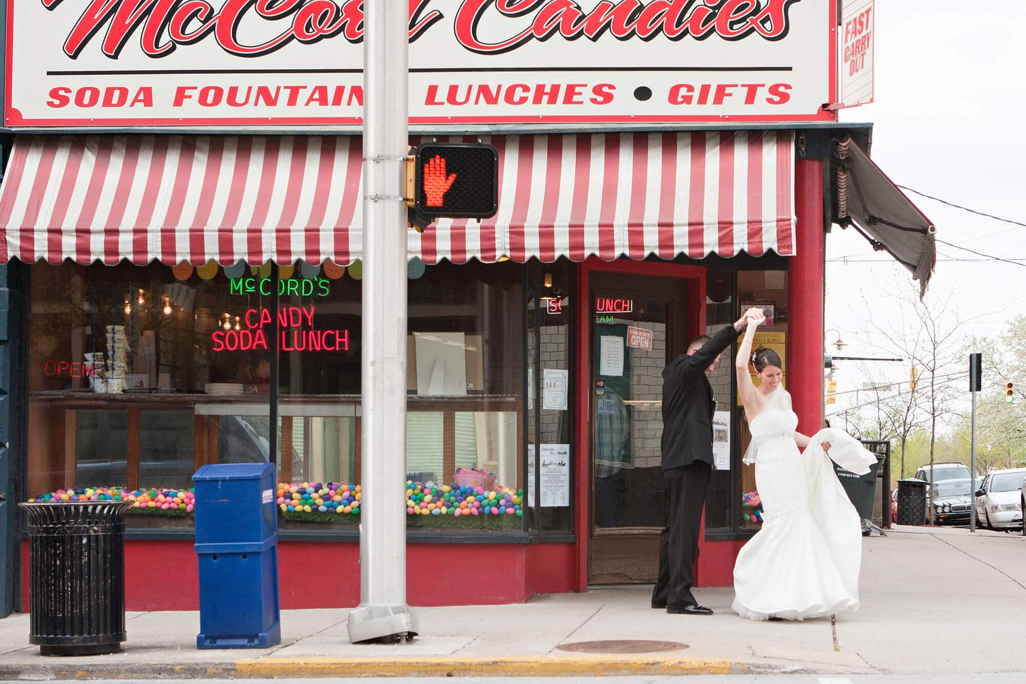 McCords Candies Bride and Groom