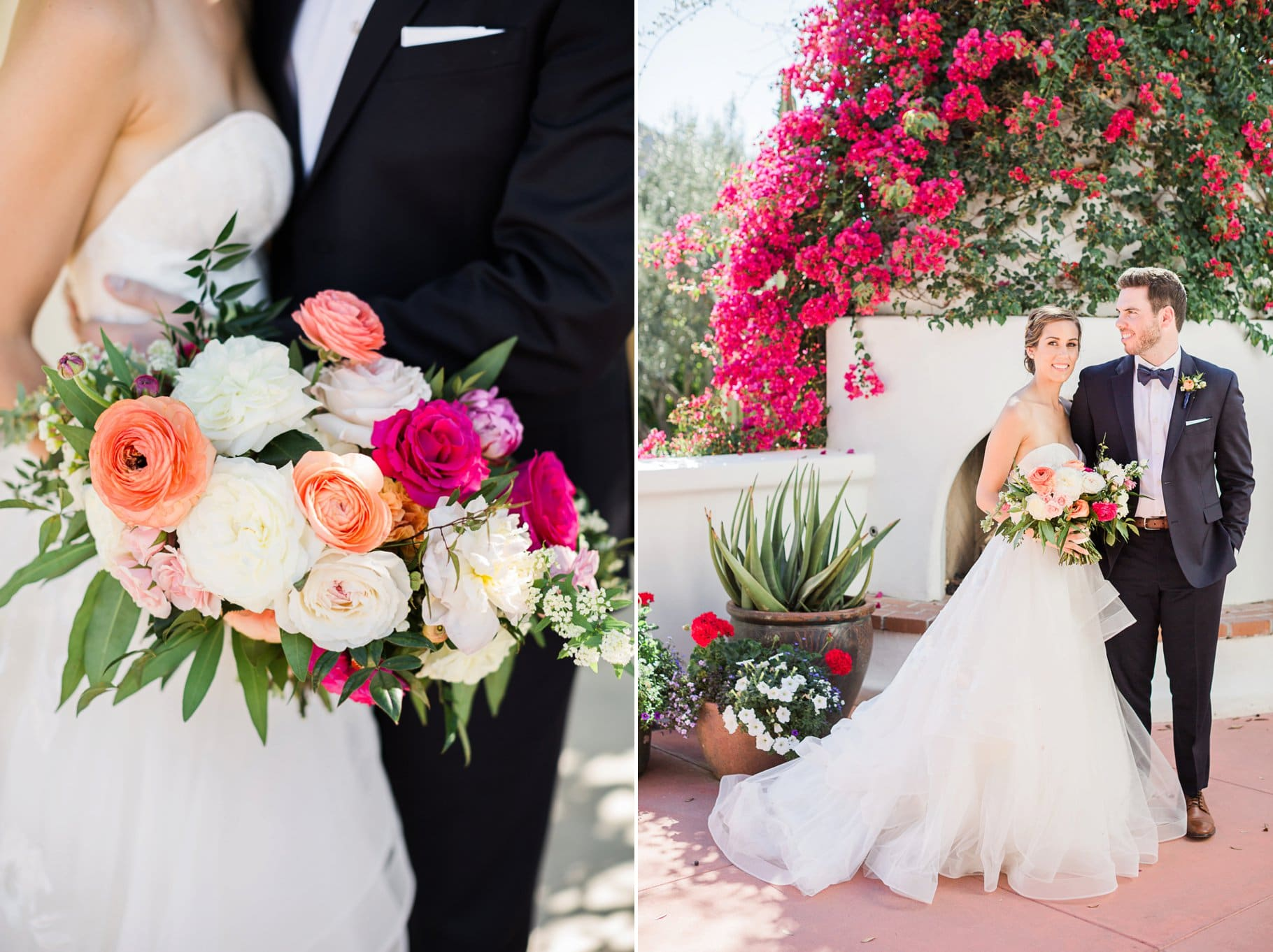 Colorful Romantic Spring El Chorro Wedding