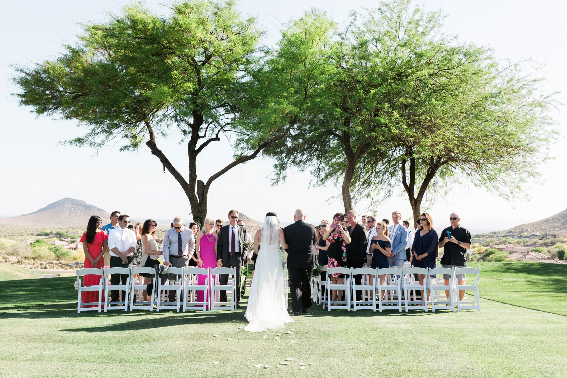 Intimate Eagle Mountain Wedding