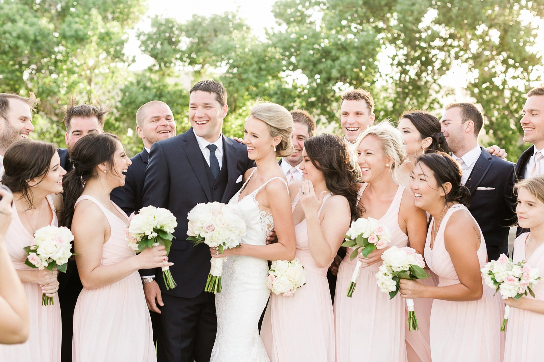 joyful wedding at Sedona Golf Resort