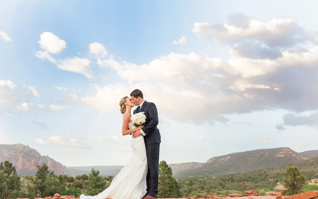 Elegant Sedona Golf Resort Wedding