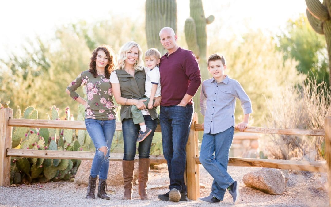 Family Portraits at Gilbert Riparian Preserve