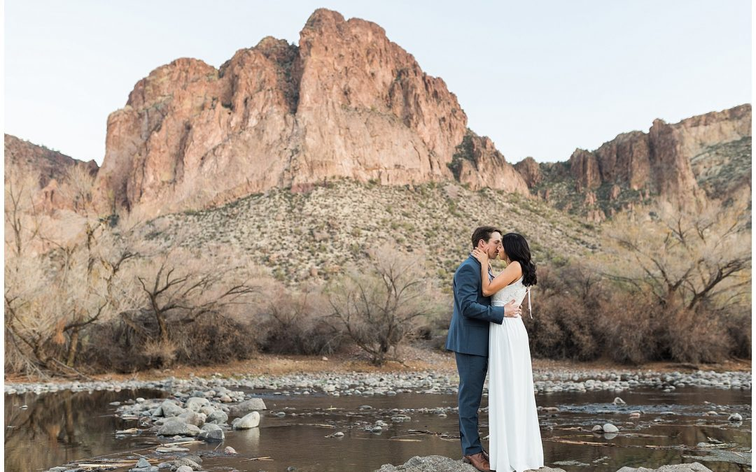 Dreamy Salt River Engagement Session