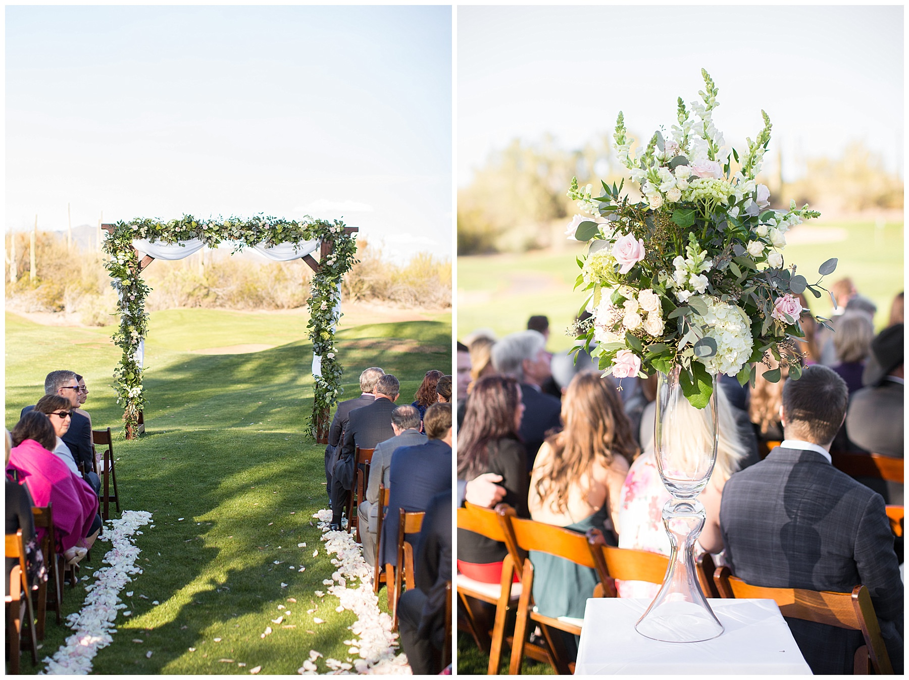 Spring Wedding Flowers at Rancho Manana Resort