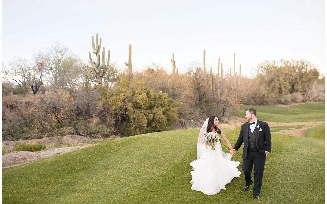 Rancho Manana Wedding at Sunset