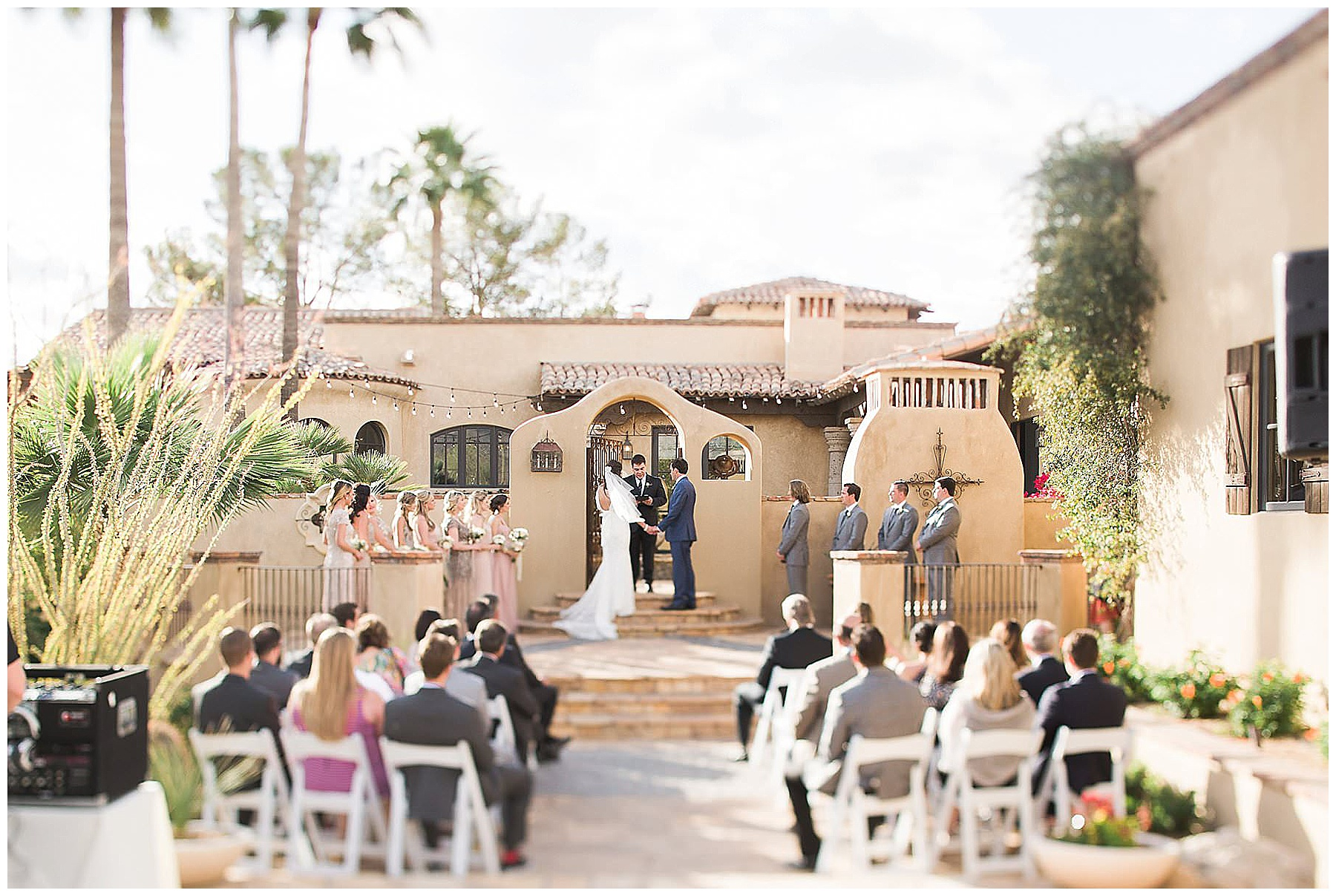 Paradise Valley Private Residence Wedding, Backyard Wedding Phoenix