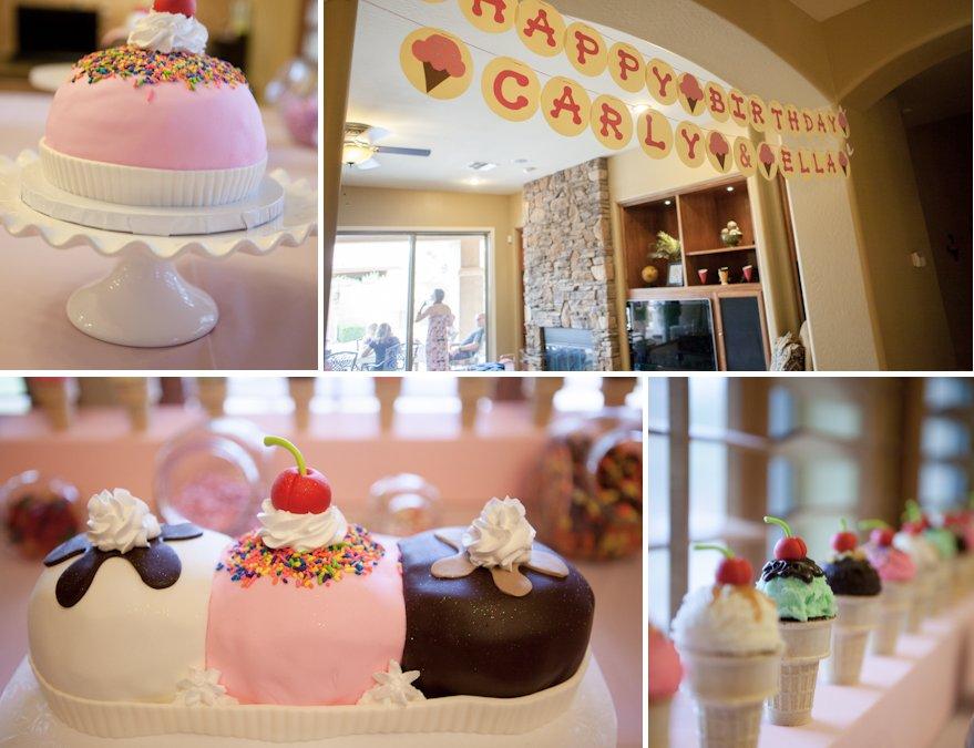 Carly and Ella's Ice Cream Birthday